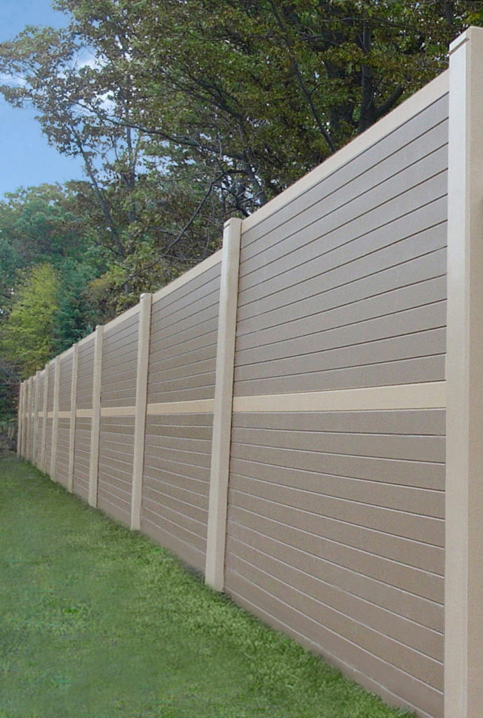 "SonaGuard Earth Tan Precast 6"" Panels"