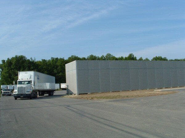 Sound Barrier Wall Construction | Commercial Noise Barrier