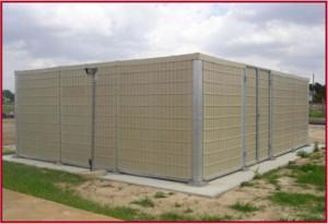 Sound barrier panels case study