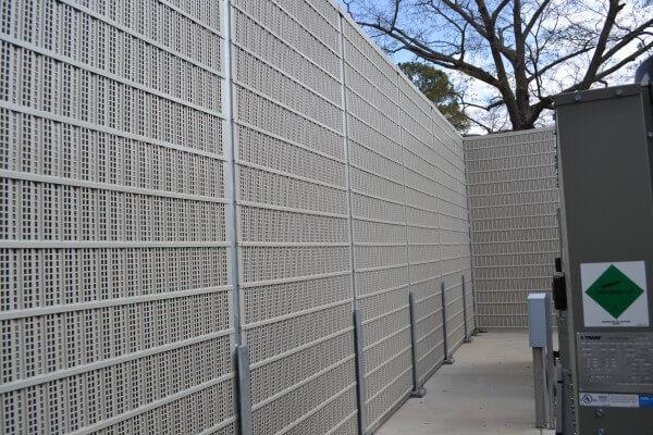 Air Conditioner Sound Barrier Noise Reduction Hvac Noise
