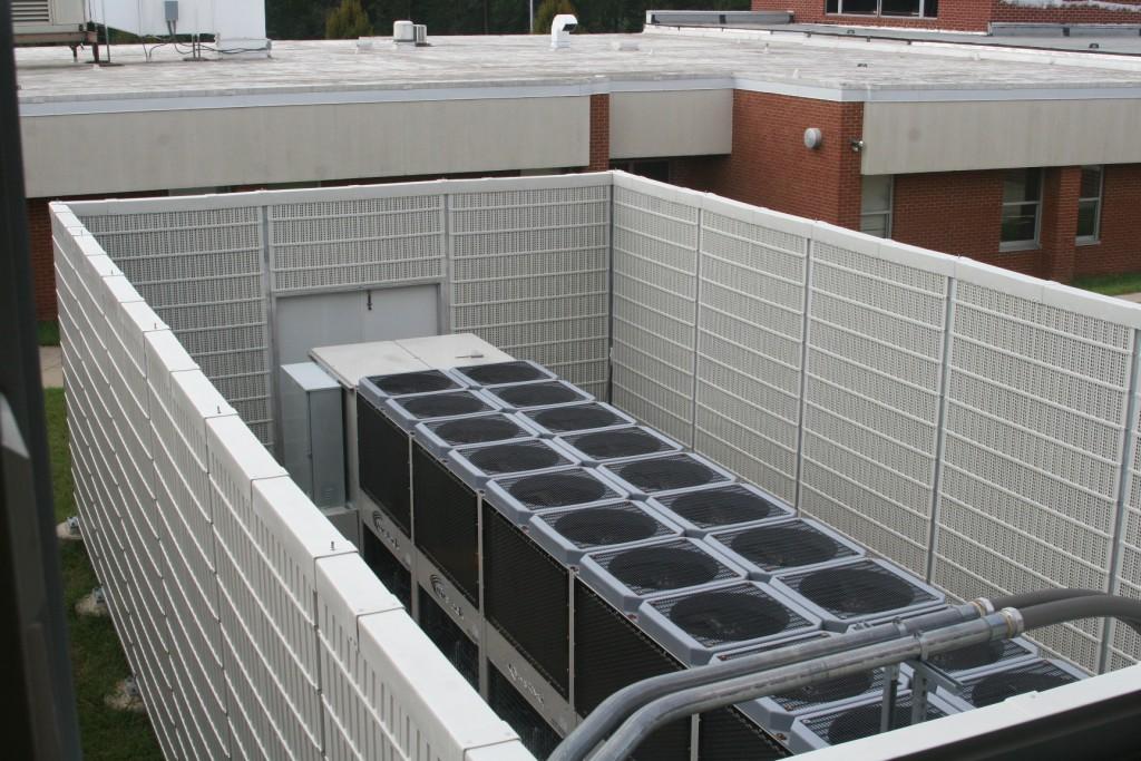 air conditioner noise enclosure