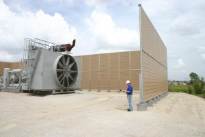 outdoor sound barrier wall panels