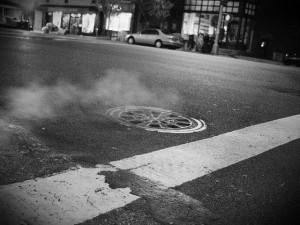 the world's loudest manhole