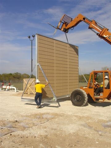 portable sound barrier walls