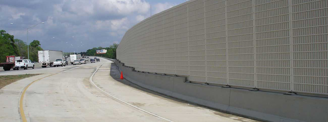 Noise Barrier Walls | Sound Walls | Sound Absorbing Walls