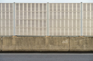 highway noise barrier wall