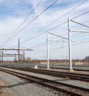 freight train noise barrier wall