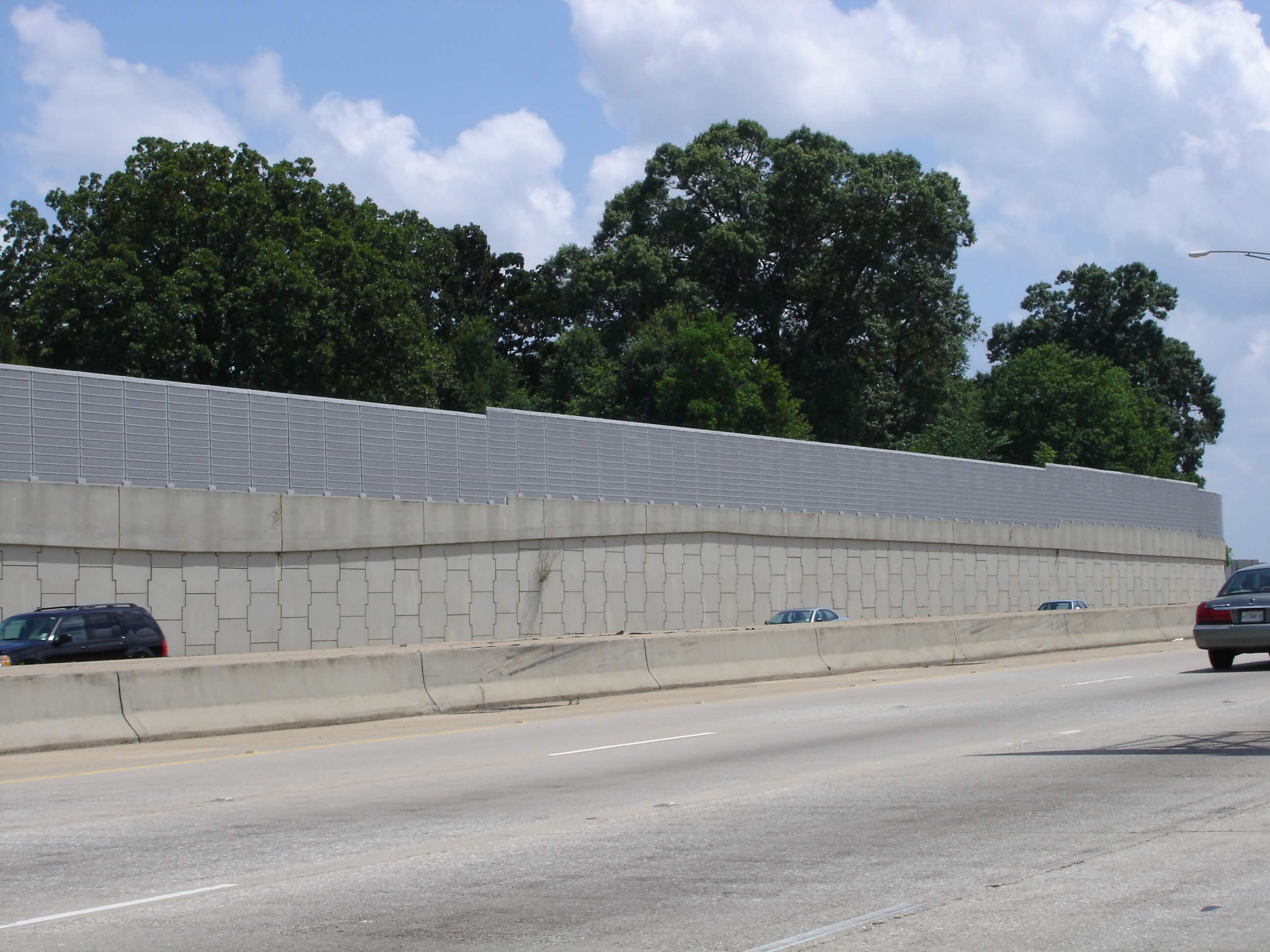 highway noise barrier
